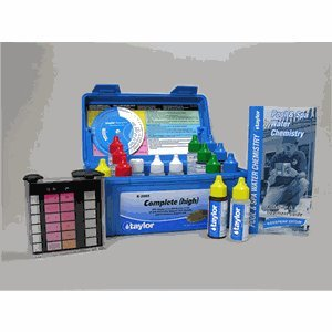 taylor Deluxe DPD Pool and Spa Water Test Kit - K-2005 from Taylor