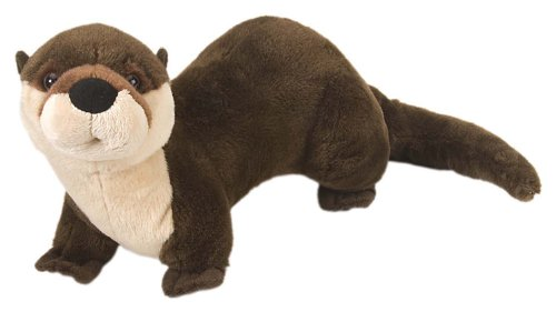 Otter Toy - Wild Republic River Otter Plush, Stuffed Animal, Plush Toy, Gifts for Kids, Cuddlekins 12 Inches