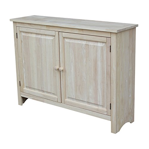 (International Concepts Hall Cupboard, 34-Inch, Unfinished)