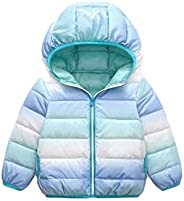 NNA Children's Girls' Snow-Proof Clothes,Winter Outwear Coat Cashmere Dow