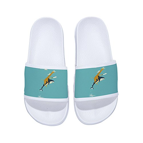 Boys Girls Non Slip Shower Shoes Wash Room Bathroom Bedroom Swimming Indoor & Outdoor Floor Slipper by CoolBao (Image #1)
