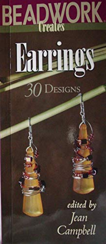 - BEADWORK CREATES EARRINGS Jean Campbell 30 Designs Dangle Chandelier Hoops BOOK
