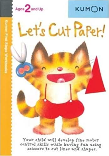 Let S Cut Paper Kumon First Steps Workbooks Kumon 8601404304996