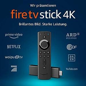 FireTVStick4K Ultra HD mit der neuen Alexa-Sprachfernbedienung