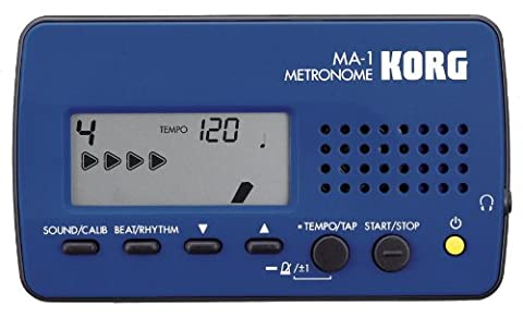 Korg MA1BL Visual Beat Counting Metronome, Blue - Specialized Electronics