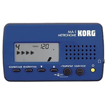 Korg MA1BL Visual Beat Counting Metronome, Blue