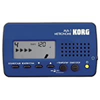 Korg MA-1BLBK Multi-Function Digital Metronome - Blue/Black