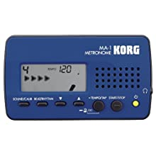 Korg MA1BL Visual Beat Counting Metronome, Blue