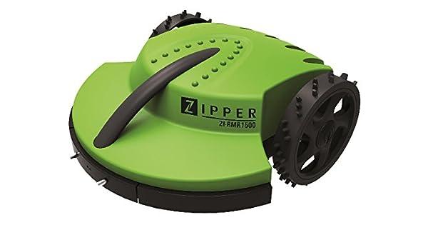 Zipper ZI-RMR 1500 Robot - Cortacésped (Robot cortacésped, 28 cm ...