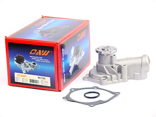 OAW M1780 Engine Water Pump for 04-06 Mitsubishi Lancer & Outlander, 06-12 Eclipse & 04-12 Galant 2.4L 4G69