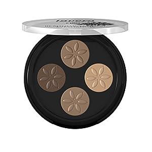 lavera Fard à paupières – Beautiful Mineral Eyeshadow – Quattro Cappuccino Cream 02- poudres compactées – vegan…