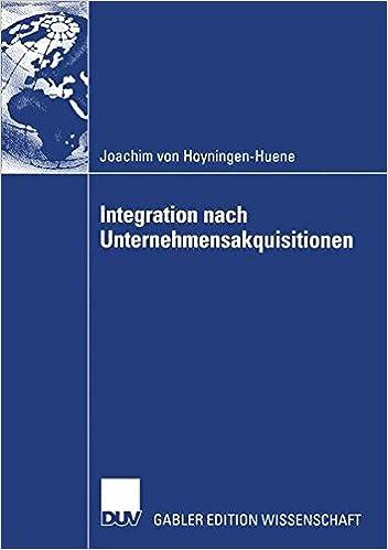 Integration nach Unternehmensakquisitionen