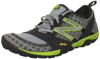 New Balance Men's MT10 Minimus Trail Running Shoe,Silver/Green,14 D US