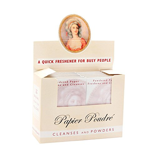White 12 book box (65 sheets in each book) by Papier Poudre by Papier Poudré