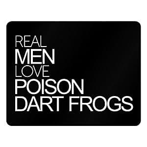 Idakoos Real men love Poison Dart Frogs - Animals - Plastic Acrylic