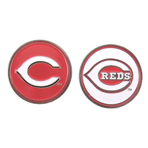 Cincinnati Reds Golf Ball Marker (2-Sided)