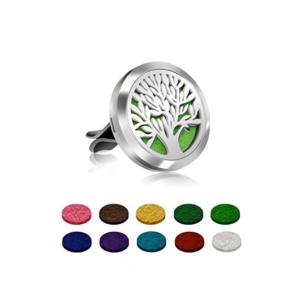Free 10 Felt Pads Aroma Outfitters Car Fragrance Diffuser By GOOACC,to Improve Car Air Quality