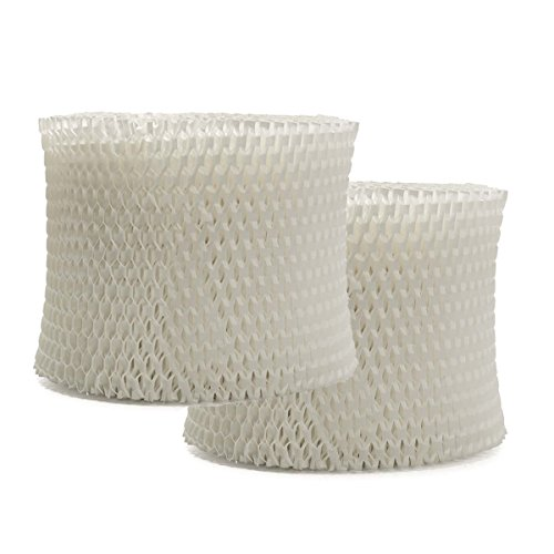 VacFit Air Humidifier Filter for Philips Humidifier HU4102 HU4801 Replacement Filter Humidifier Parts Accessory 2 Packs by VacFit