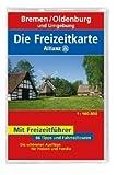 Die Allianz Freizeitkarte Bremen, Oldenburg und Umgebung 1:100 000