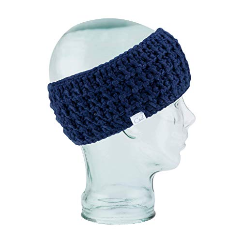 Coal Women's The Waffle Headband, navy, One Size