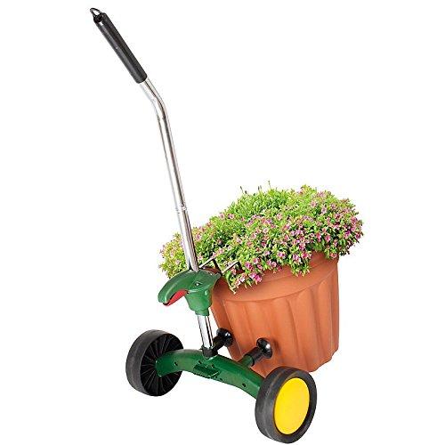 96 Best Images About Wpc Planter Pot: Plant Pot Mover (Black, Large 39cm): Amazon.co.uk: Garden