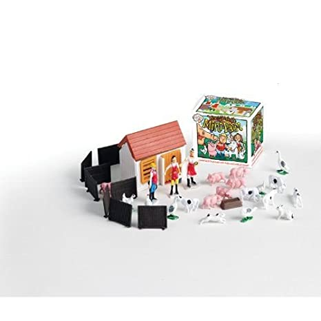 Amazon.com: Teeny Tiny Mini Farm Playset: Toys & Games