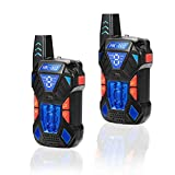 Happy Gift Kids Toys Walkie Talkies, Yard Toys for 3-12 Year Old Boys,Children Walkie Talkies Toys for 4-9 Old Year Teen Boys Gifts.HK-002B01,1Pair