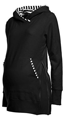 Happy Maternity Sweatshirt Adjustable Zippers product image