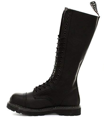 Grinders King 2015 Black Mens Safety Steel Toe Derby Boots