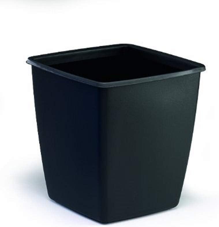 Durable 1701579221 - Papelera (capacidad de 18 l., 300 x 320 x 300 mm) , color negro