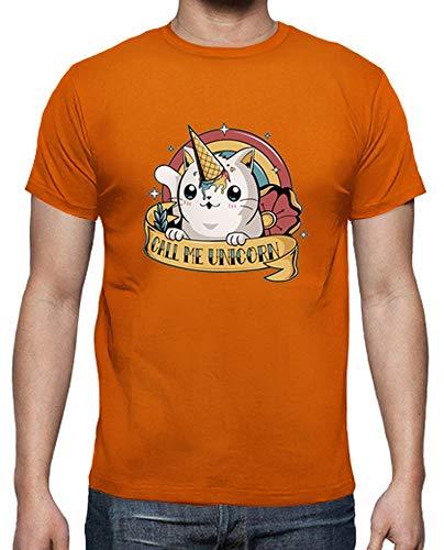 Me Unicorn Uomo shirt Call Tostadora T Arancione qRfvt4