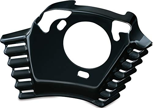 Kuryakyn 7244 Motorcycle Accent Accessory: Throttle Servo Motor Cover for 2008-16 Harley-Davidson Motorcycles with Kuryakyn Air Cleaners, Gloss Black