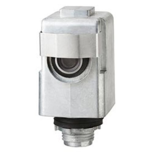 - Intermatic K4136M - Photo Control - Thermal Type Photocell - Stem Mounting - Heavy Duty Die Cast Housing - Dusk-To-Dawn - 120/277 Volt