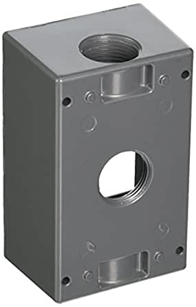 T/&B RED DOT OUTLET BOX DEEP 3//4  SIHD5-2  *NEW SURPLUS IN ORIGINAL SEALED PCKG*