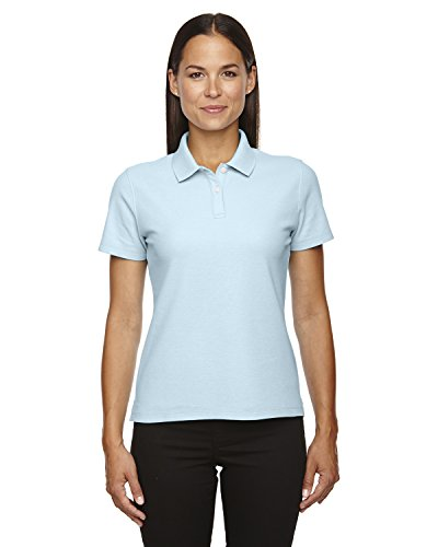 Devon & Jones Ladies DRYTEC Performance Polo Shirt, CRYSTAL BLUE, XX-Large