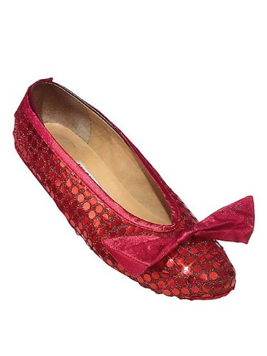 Wizard of Oz Sequin Shoe Covers Adult (Shoe Of Cover Wizard Oz)