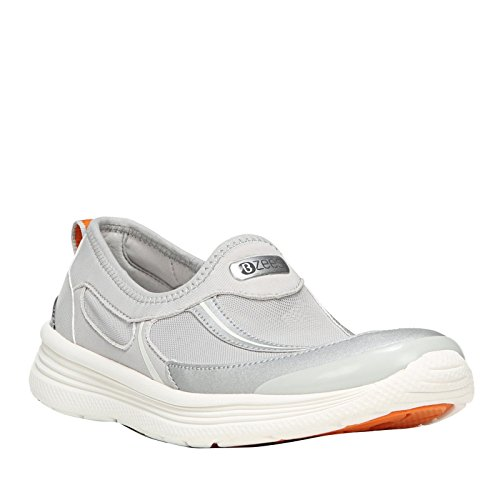 Bzees Mujeres Wavy Water Zapatos (gris, 6.5m)