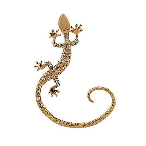 Stud Earrings Ear Clips Gecko ear cuff ()