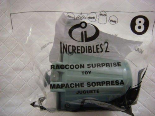 (McDonalds ~ INCREDIBLES 2 ~ RACCOON SURPRISE #8~2018)