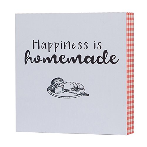 Barnyard Designs Happiness is Homemade Box Sign, Primitive Country Farmhouse Home Decor Sign with Sayings 8