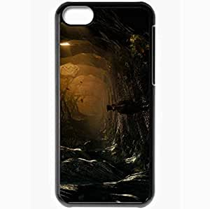 Personalized iPhone 5C Cell phone Case/Cover Skin Alice In Wonderland Black