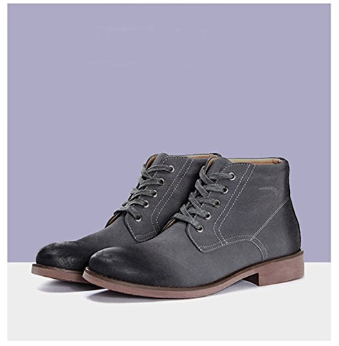 Minitoo ,  Herren Chukka Boots Dunkelgrau
