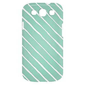 Loud Universe Samsung Galaxy S3 Confetti Print 3D Wrap Around Case - Green/White
