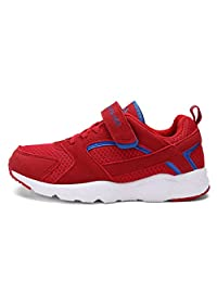 Dream Pairs 160425-K New Boys & Girls Casual Easy On Light Weight Sneakers Play Running Shoes (Toddler/Little Kid/Big Kid)