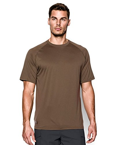 Under Armour Men's Tactical Tech, Army Brown/Clear, Small