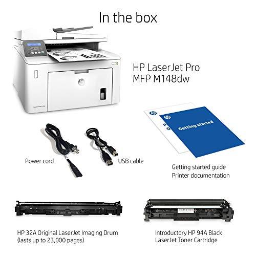 HP Laserjet Pro M148dw All-in-One Wireless Monochrome Laser