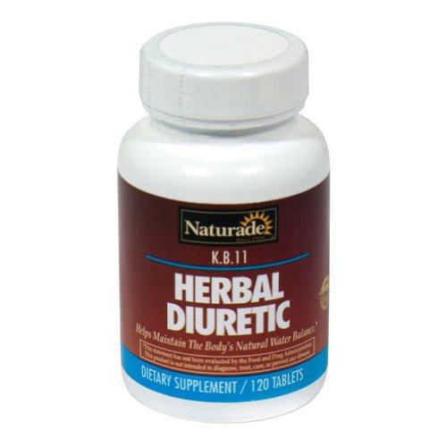 KB 11 Herbal Diuretic Naturade Products 120 Tabs