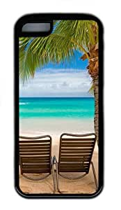 iPhone 5C Cases & Covers -Chilling At The Beach TPU Case Cover For iPhone 5C - Black