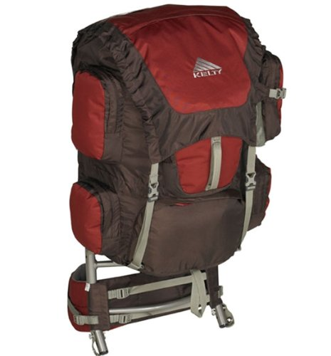 Kelty Trekker External Frame Pack (Java, Medium/Large -16 – 22-Inch Torso), Outdoor Stuffs