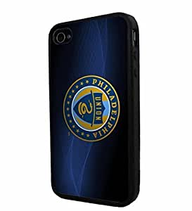 diy zhengSoccer MLS PHILADELPHIA UNION SOCCER CLUB FOOTBALL FC, Cool iPhone 6 Plus Case 5.5 Inch / Smartphone Case Cover Collector iphone TPU Rubber Case Black